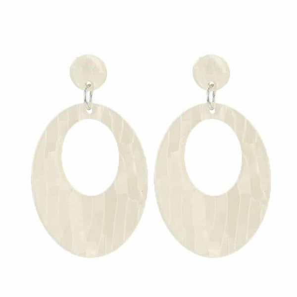 Beach Shell Ovals  - Beige