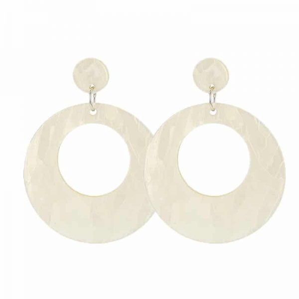 Beach Shell Rounds - Beige