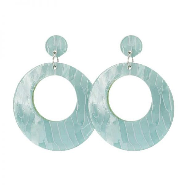 Beach Shell Rounds  - Blue