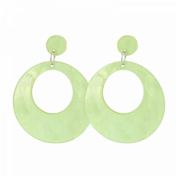 Beach Shell Rounds - Green
