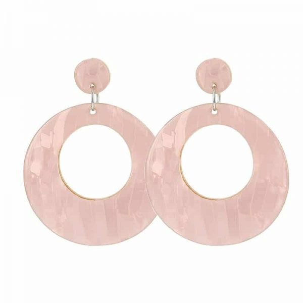 Beach Shell Rounds  - Light Pink