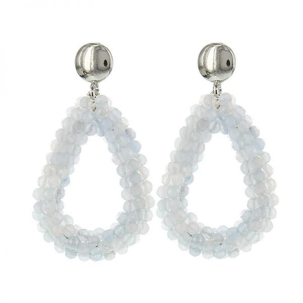 Luxury Bead Ovals - White Opal