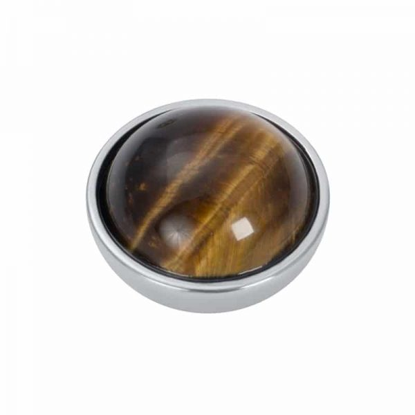Top part brown amber stone