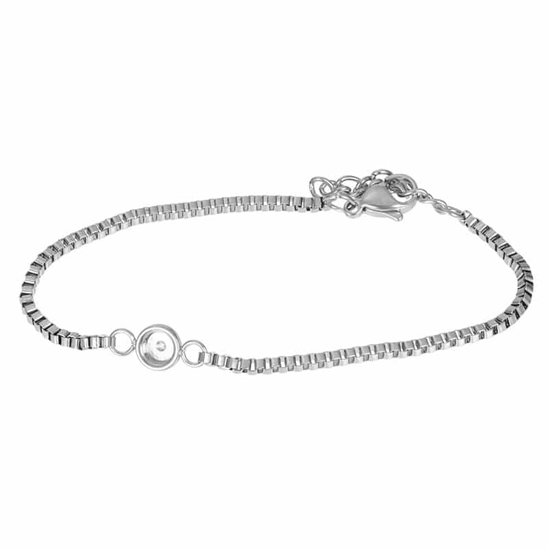 Bracelets Box chain top part base