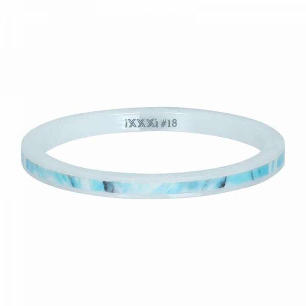 Ceramic blue paradise 2mm vulring wit - iXXXi