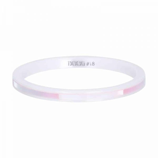 Ceramic pink shell 2mm vulring wit - iXXXi