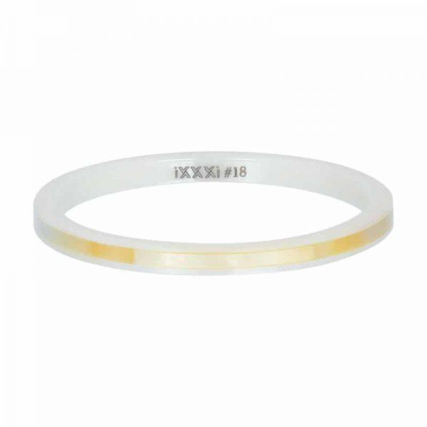 Ceramic yellow shell 2mm vulring wit - iXXXi