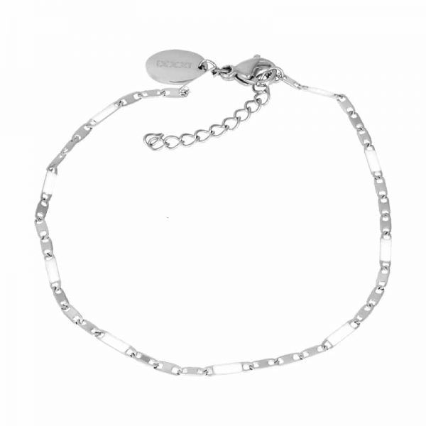 Curacao (white) armband zilver - iXXXi