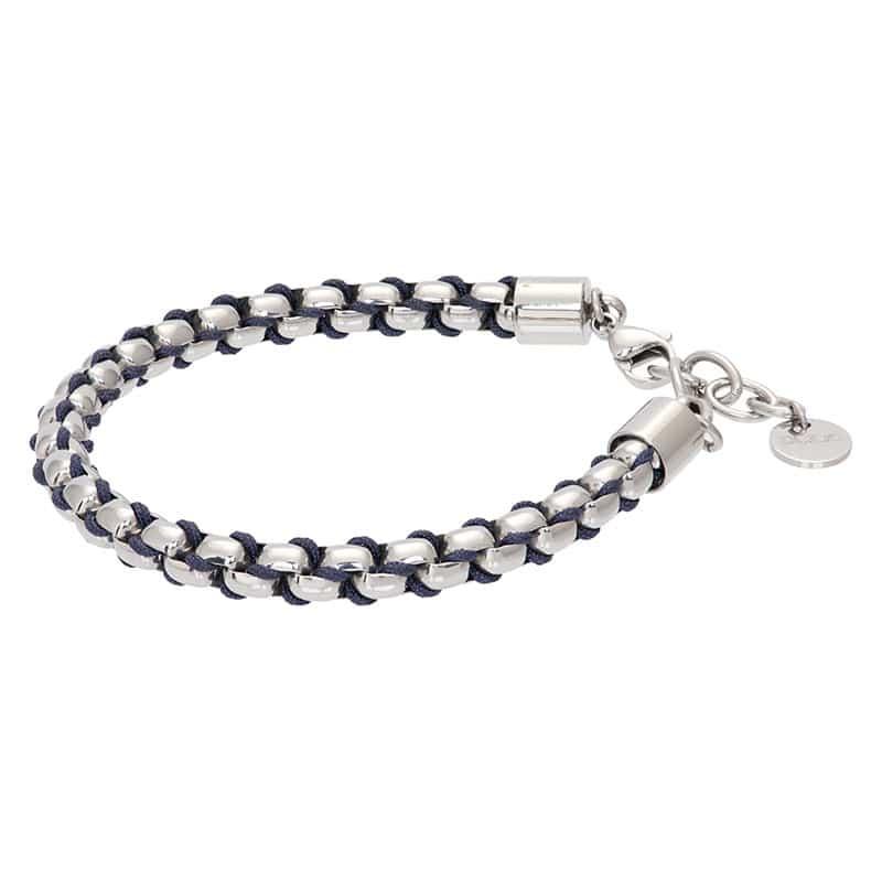 Ibiza blue armband zilver - iXXXi