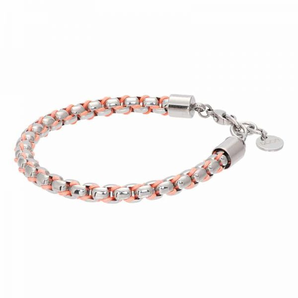 Ibiza orange armband zilver - iXXXi