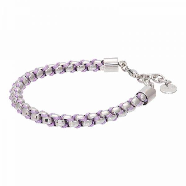 Ibiza purple armband zilver - iXXXi