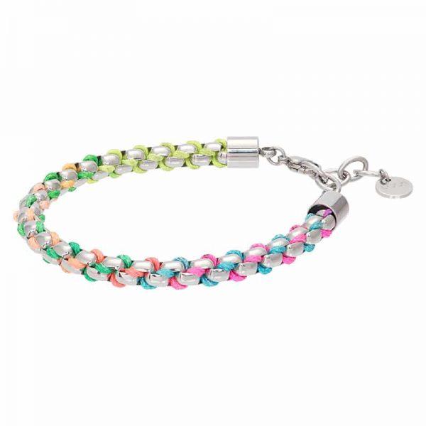 Ibiza rainbow armband zilver - iXXXi