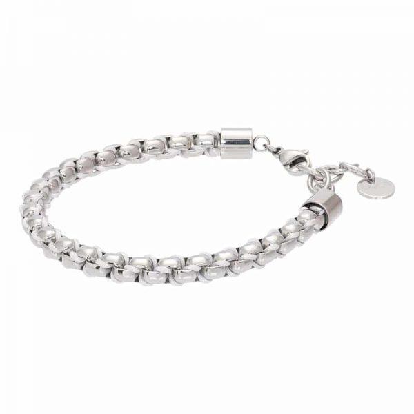 Ibiza white armband zilver - iXXXi