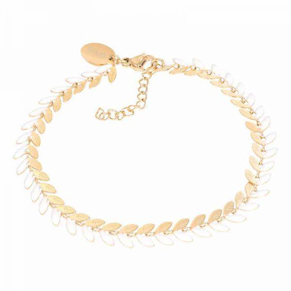 Malediven (white) armband goud - iXXXi