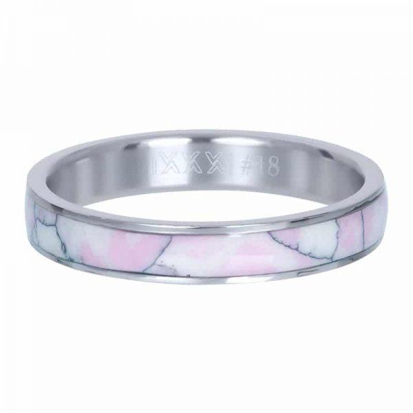 Pink paradise 4mm vulring zilver - iXXXi