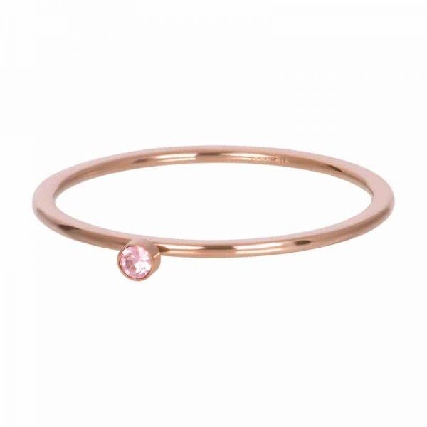 Pink stone crystal 1mm vulring rosé - iXXXi