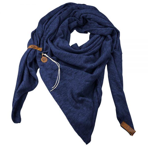 Sjaal Fien Petrol Blauw -Lot83