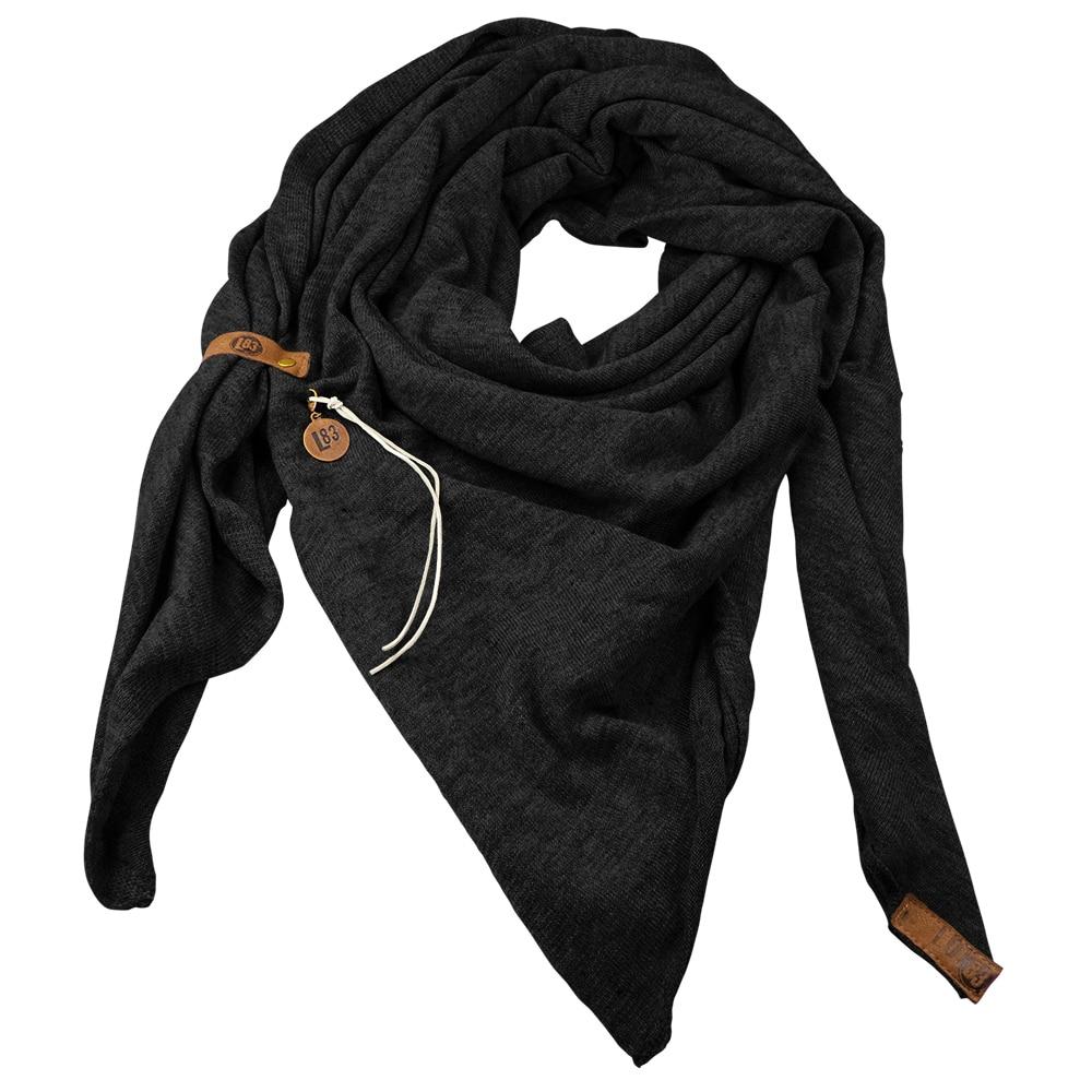 Sjaal Fien Zwart - Lot83