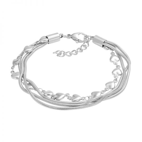 Snake and heart 17+3 zilver - iXXXi
