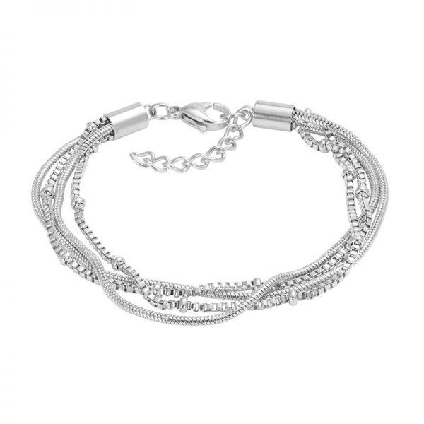 Snake knot zilver - iXXXi