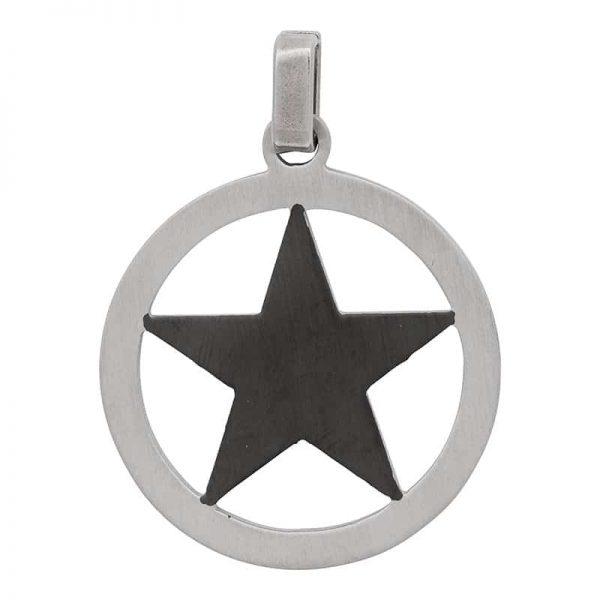 Star black hanger zilver - iXXXi