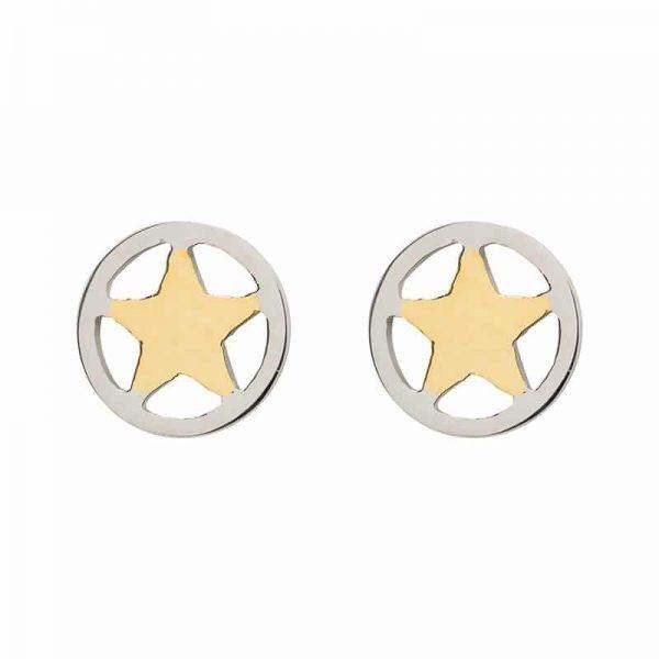 Star oorbellen goud - iXXXi