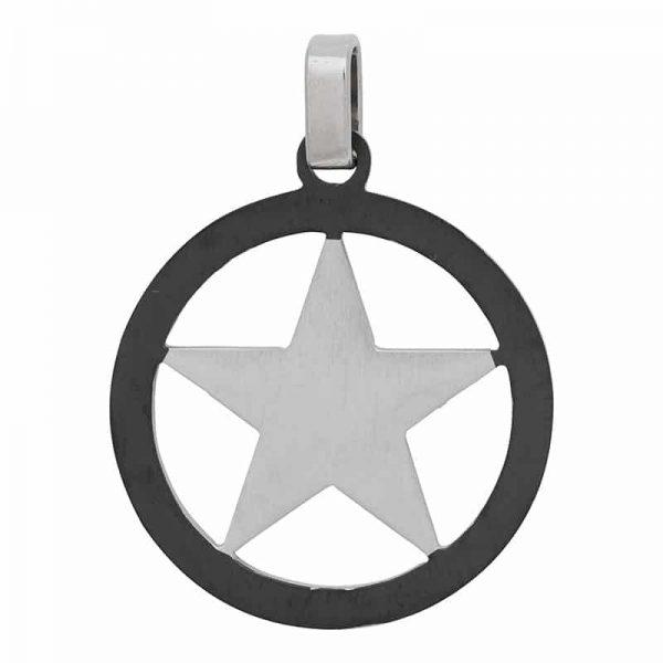 Star silver hanger zilver - iXXXi