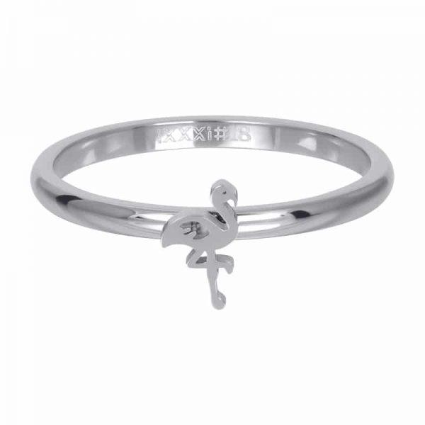 Symbol flamingo 2mm vulring zilver - iXXXi