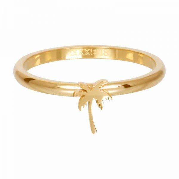 Symbol palm tree 2mm vulring goud - iXXXi