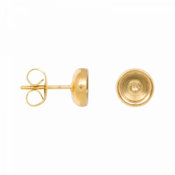 Top part base oorbellen goud - iXXXi
