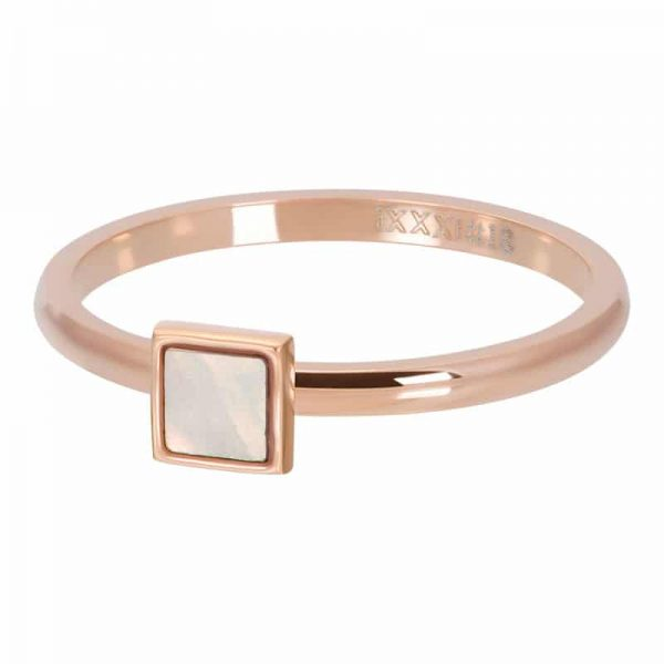 Pink Shell Stone Square - iXXXi