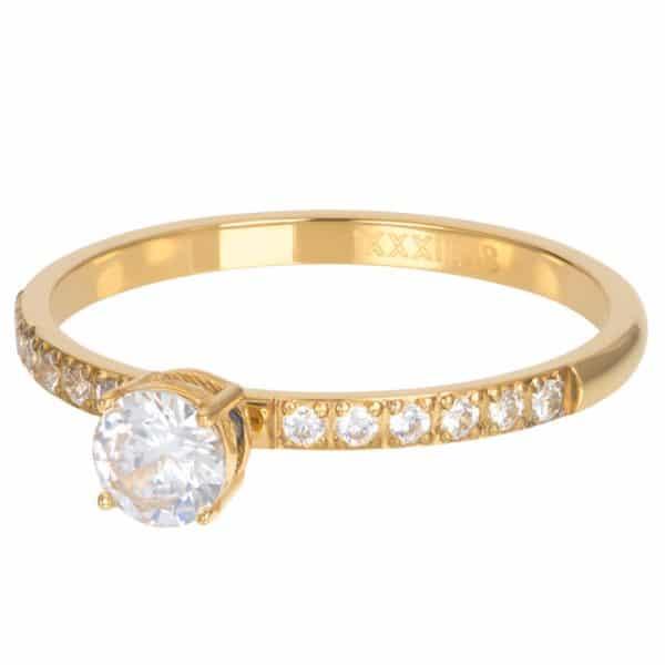 Goudkleurige vulring Queen R05809-01 - iXXXi