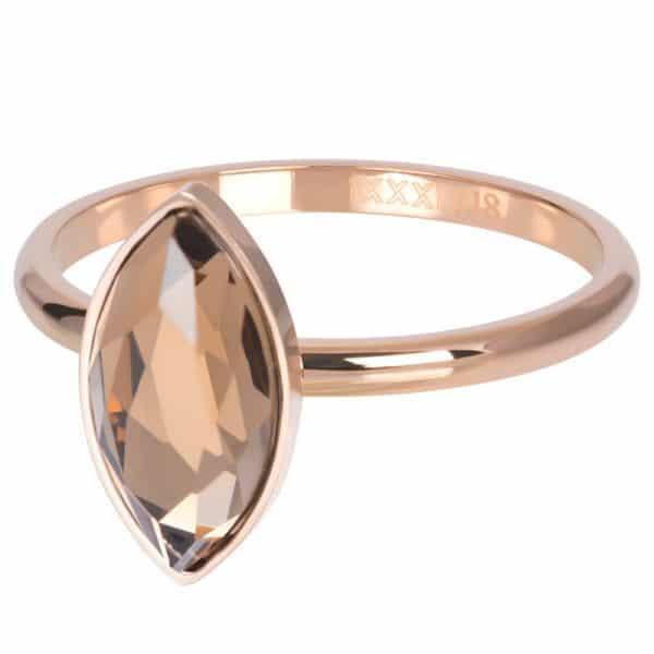Rosékleurige vulring diamant Champagne R05701-02 - iXXXi